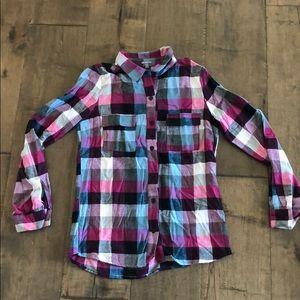 Women's Small Flannel Button Down